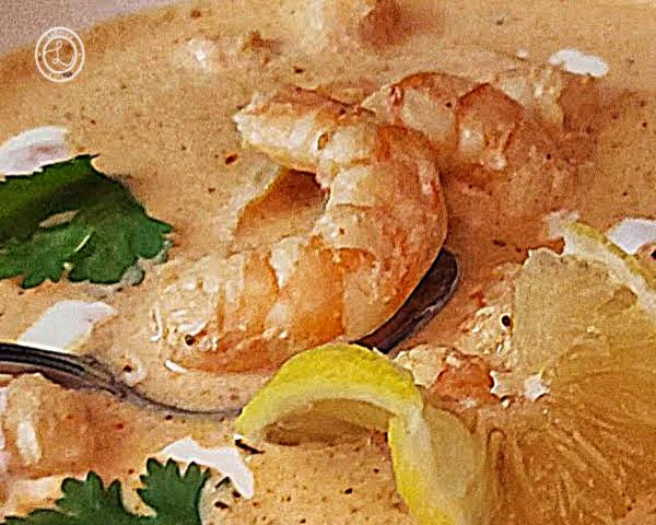 A close up of the shrimp