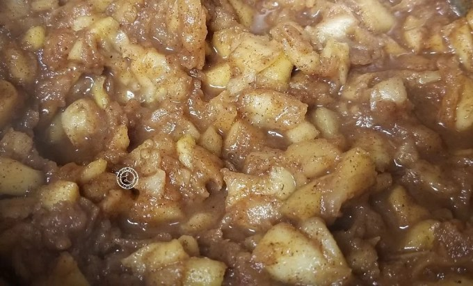 Refined Sugar-Free Cinnamon Apples to stuff pork chops with.