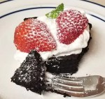 Flourless Chocolate Cake with egg whites, egg yolks, refined sugar-free, with cocoa. Sweet and moist chocolate cake for any time or special occasion.