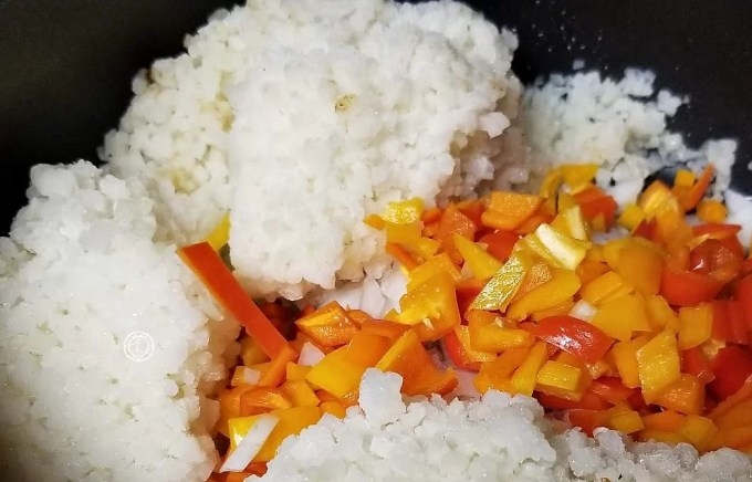 Mexican Fried Cauliflower Rice