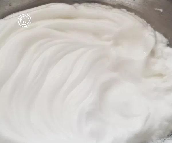 Stiff egg whites