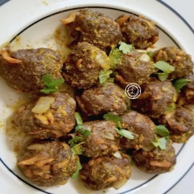 Gluten-Free Buffalo Curry Meatballs