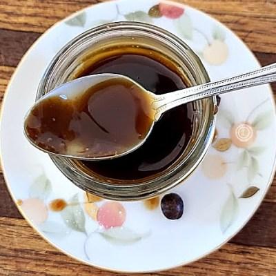 Dairy- Free Espresso Caramel Sauce