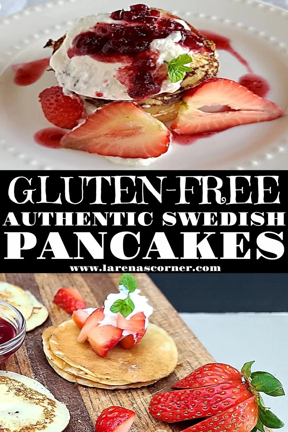 Two Pictures of Swedish Pancakes