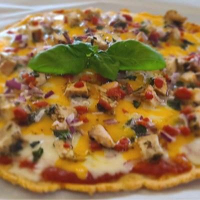 Gluten-Free Moroccan Chicken Pizza