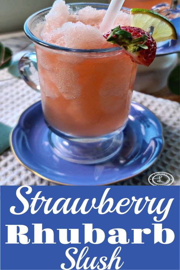 Strawberry Rhubarb Slush