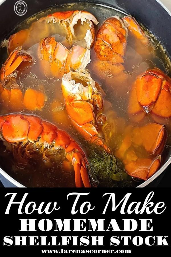 Making Shellfish stock