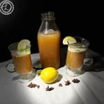 Apple Banana Hot Toddy with Apple Cider