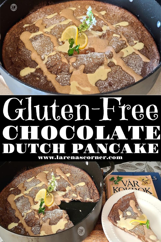 Gluten-Free Chocolate Dutch Pancake
