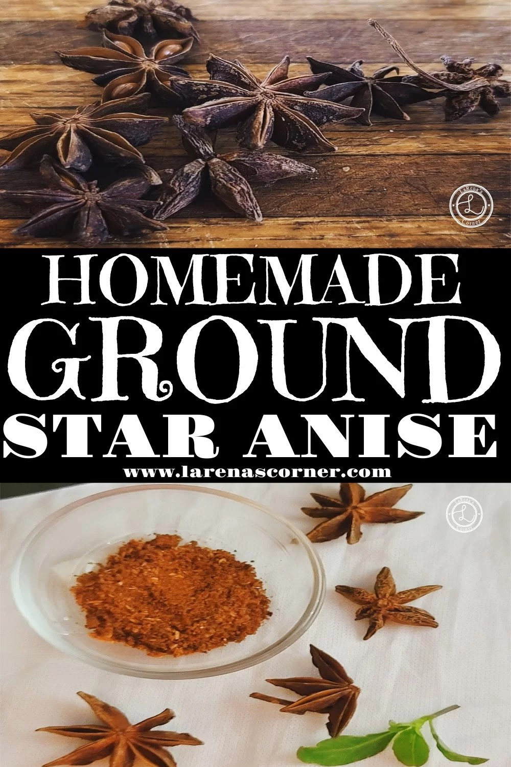 Star Anise and Ground spice