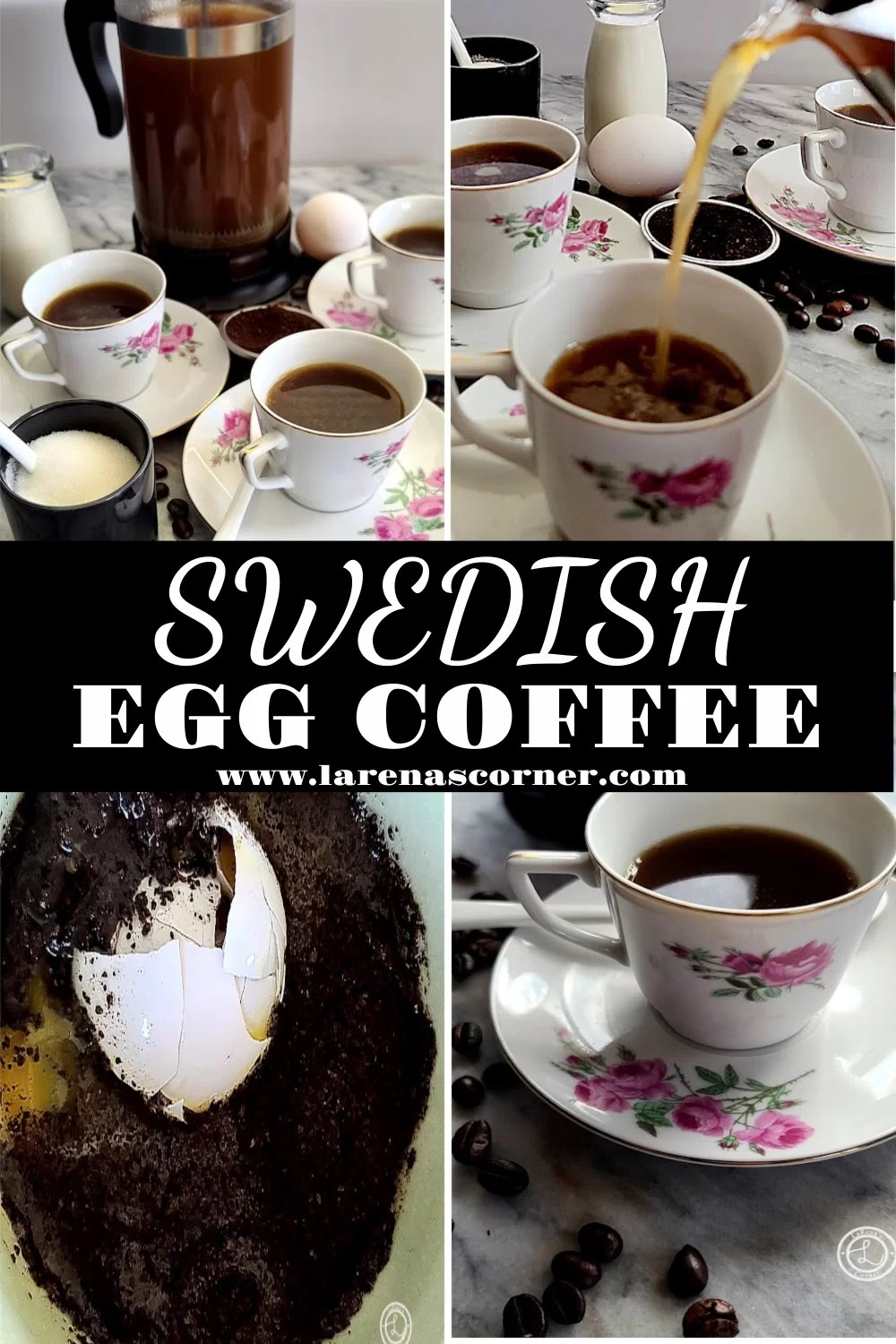 4 pictures of Swedish Egg Coffee