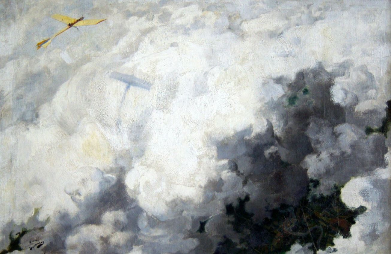 andr_devambez_-_le_seul_oiseau_qui_vole_au_dessus_des_nuages_-_1910_-_musee_dorsay