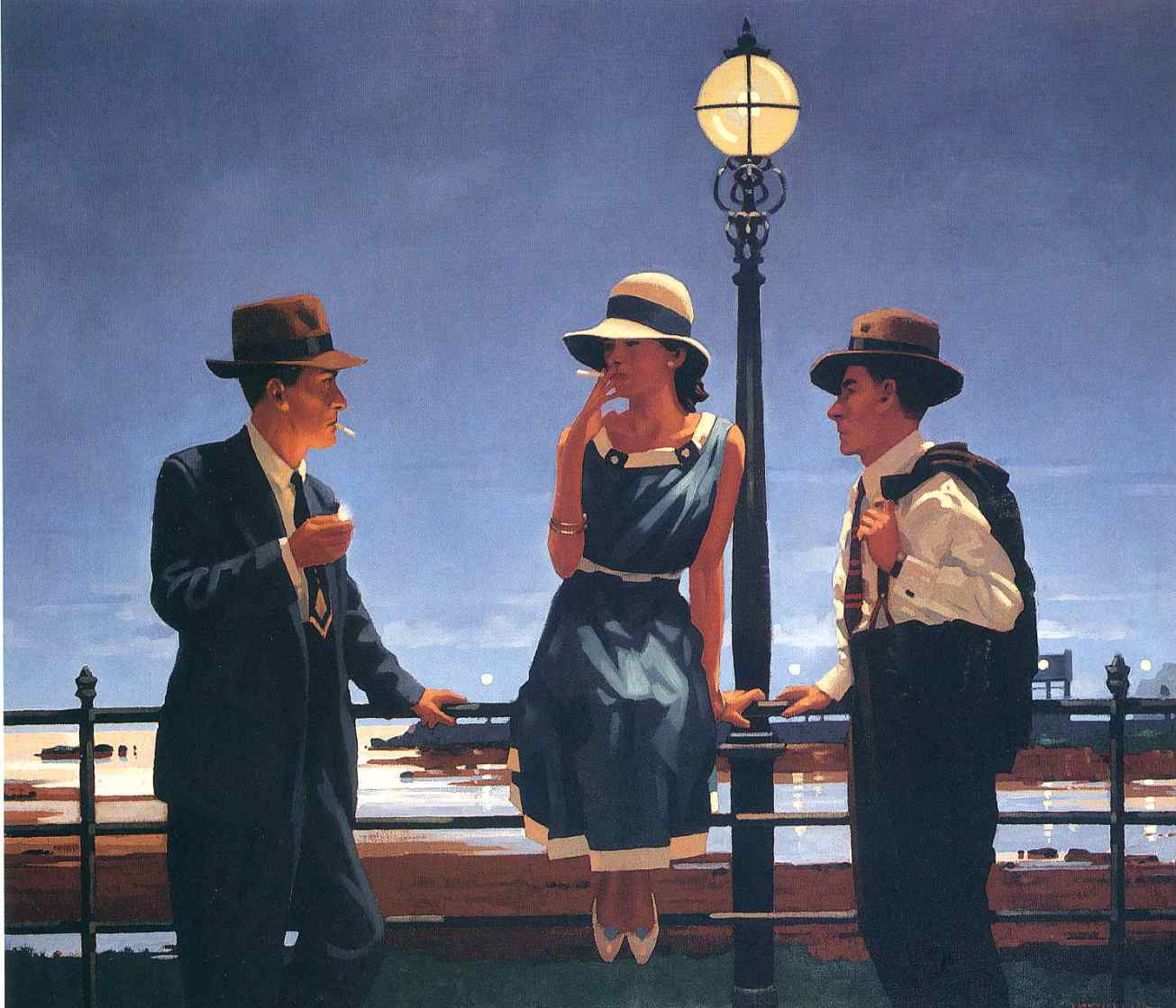 Vettriano Jacques-05 game of life