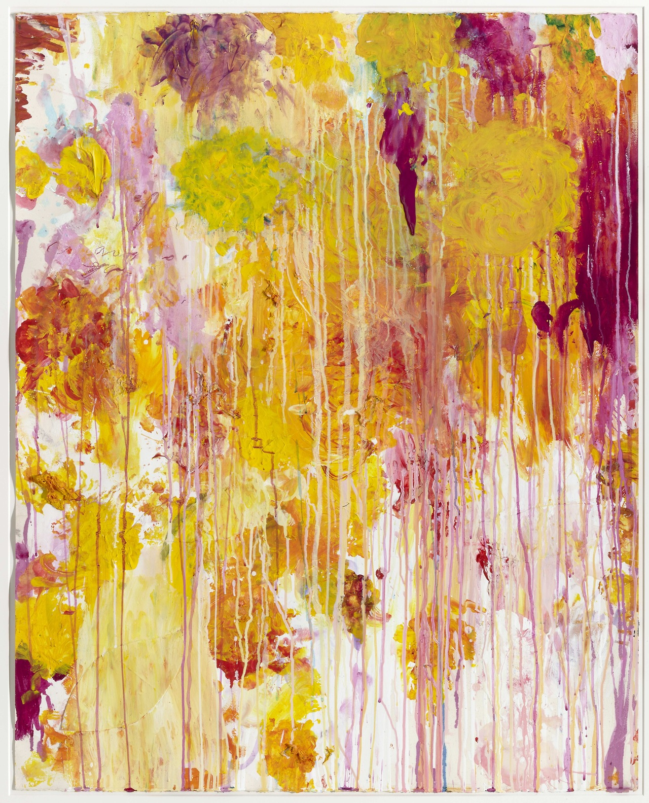 Cy Twombly, American, born 1928, Untitled, 2001