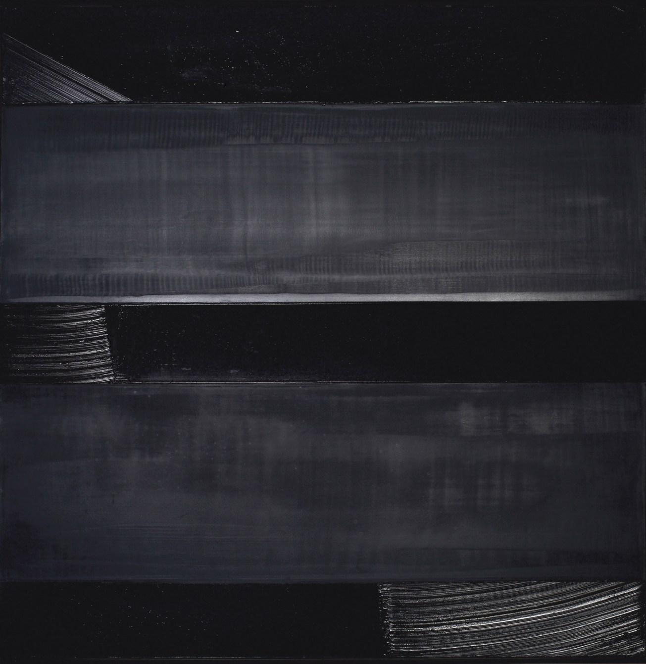 Pierre Soulages, Peinture 136 x 136 cm, 24 décembre 1990. Copyright- © Christie's Images, 2015..jpg