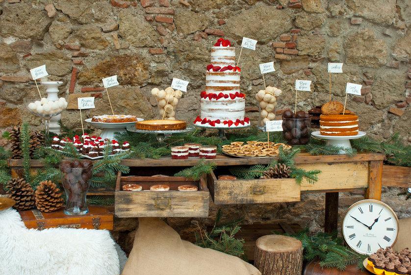 El auge de las mesas de dulces en las bodas
