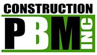 Construction PBM inc