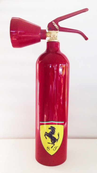 Ferrari Fire Extinguisher