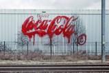 Liquidated logo - Coca Cola - Paris, 2006