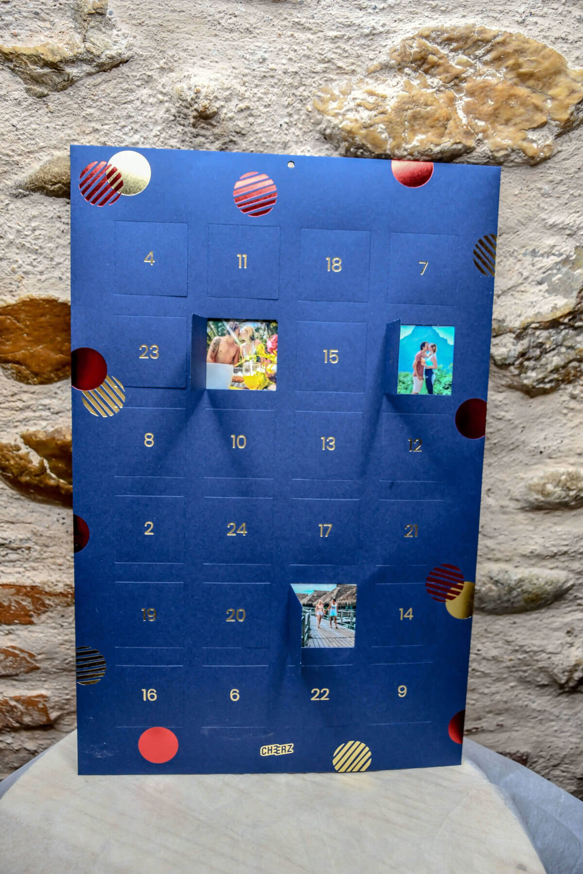 Calendrier De L'avent Cheerz : calendrier, l'avent, cheerz, CHEERZ, Idée, Cadeaux, Noël, Revue, Kathleen, Voyage