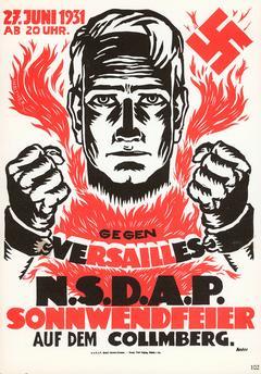 traité de versailles propagande