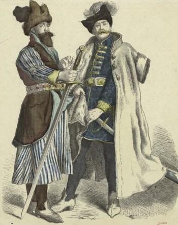 23-Nobles Polonais au 16ème-17ème siècle (Source-Collection Vinkhuijzen)
