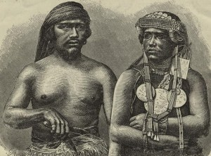 4-Couple d'Amérindiens mapuches du Chili (Source-New York Library Digital Collection)