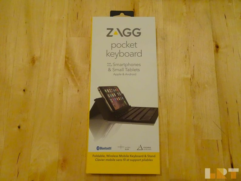La Revue Tech test Zagg Pocket keyboard