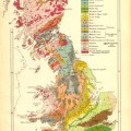 Fig 3 geological map of britain after horace b woodward 1904