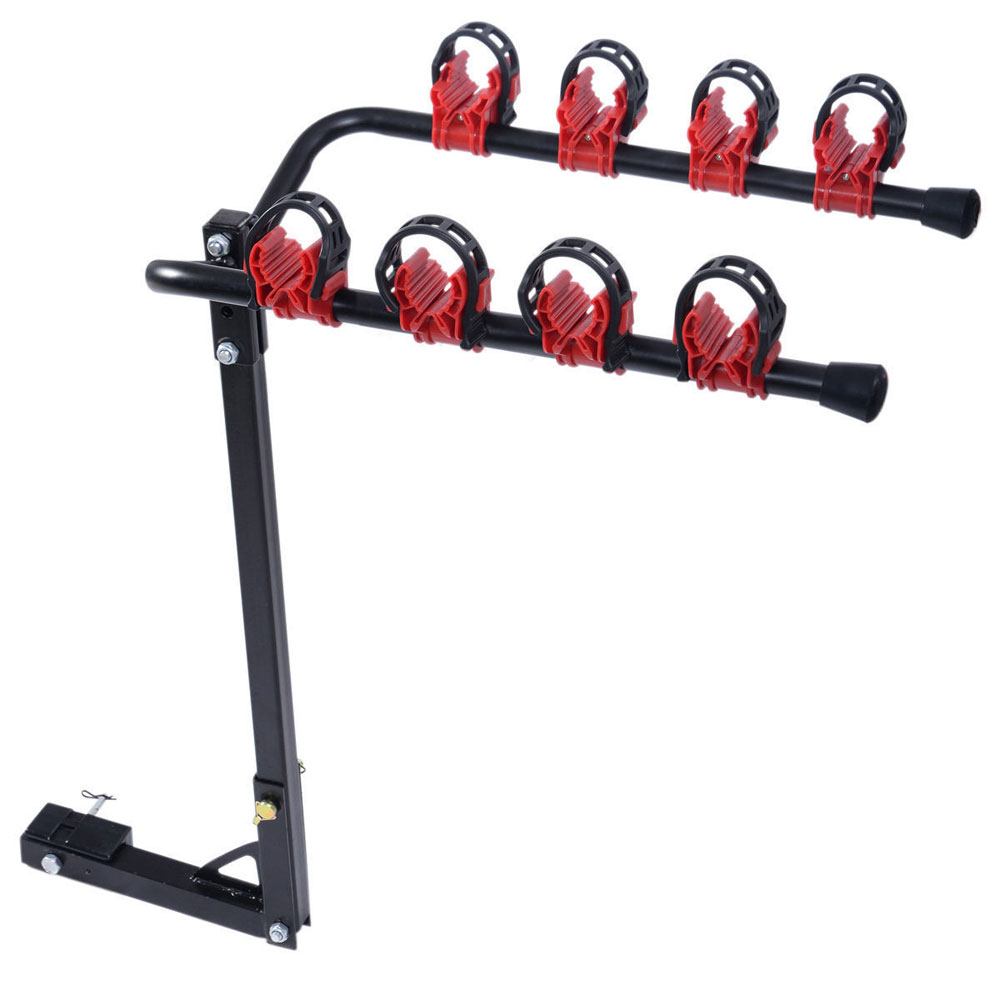 Bike Rack Auto Hitch Mount 4 Bicycle Car SUV Truck Carrier