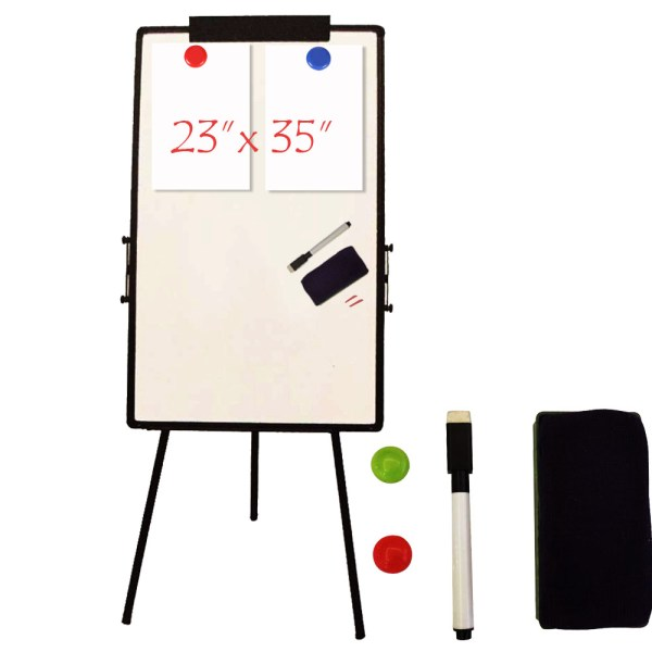 "24""x36"" Magnetic Writting Whiteboard Dry Erase With Height"