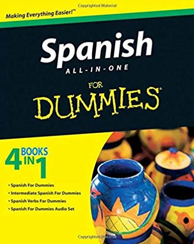 Spanish For Dummies Book Cover