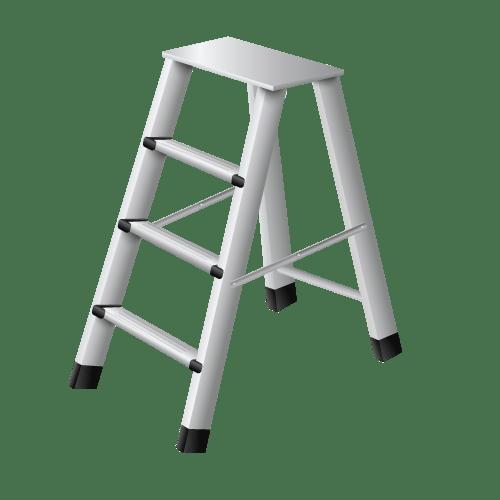 Metal Step Ladder