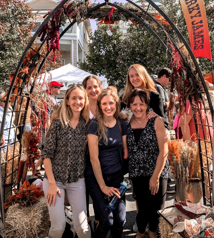 girls weekend at on the jersey shores fall festival