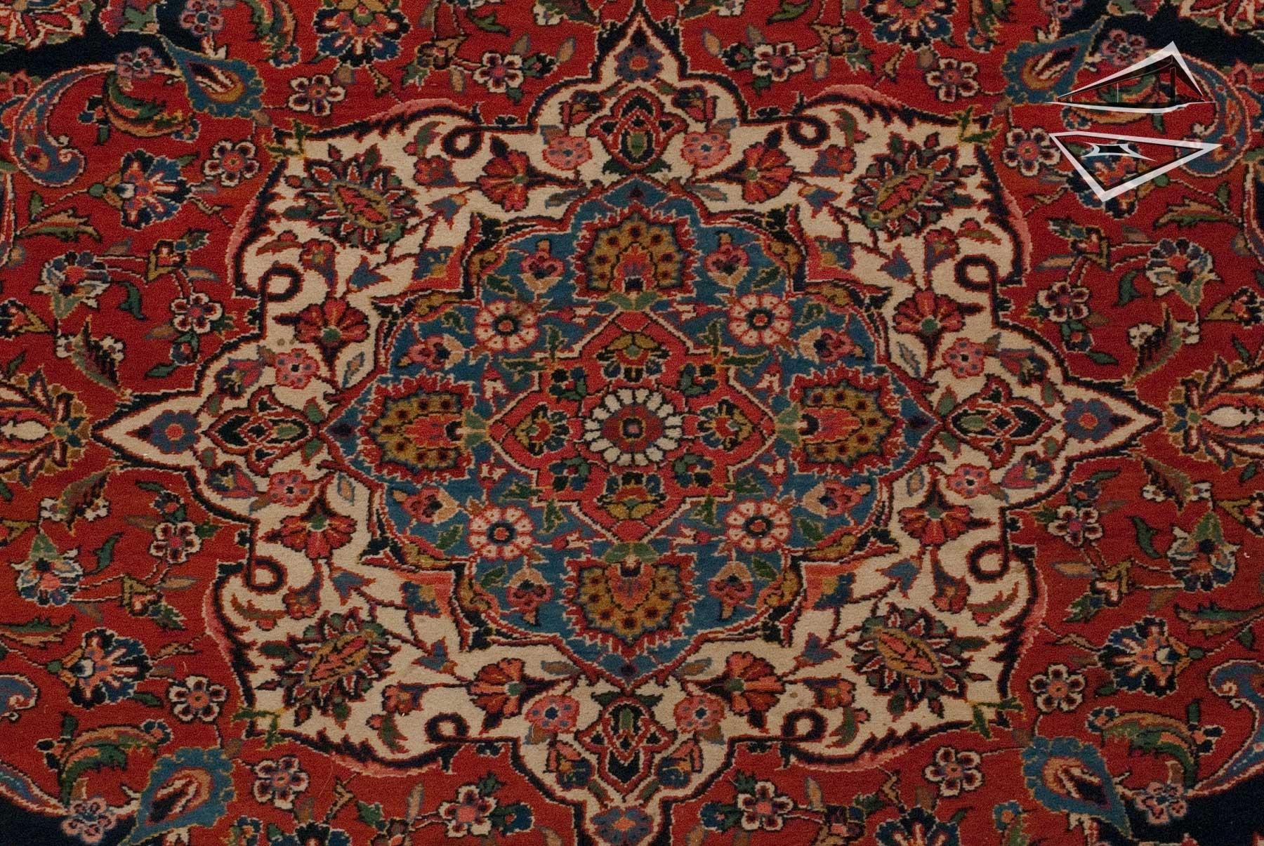 Persian Kashan Rug 10 x 15