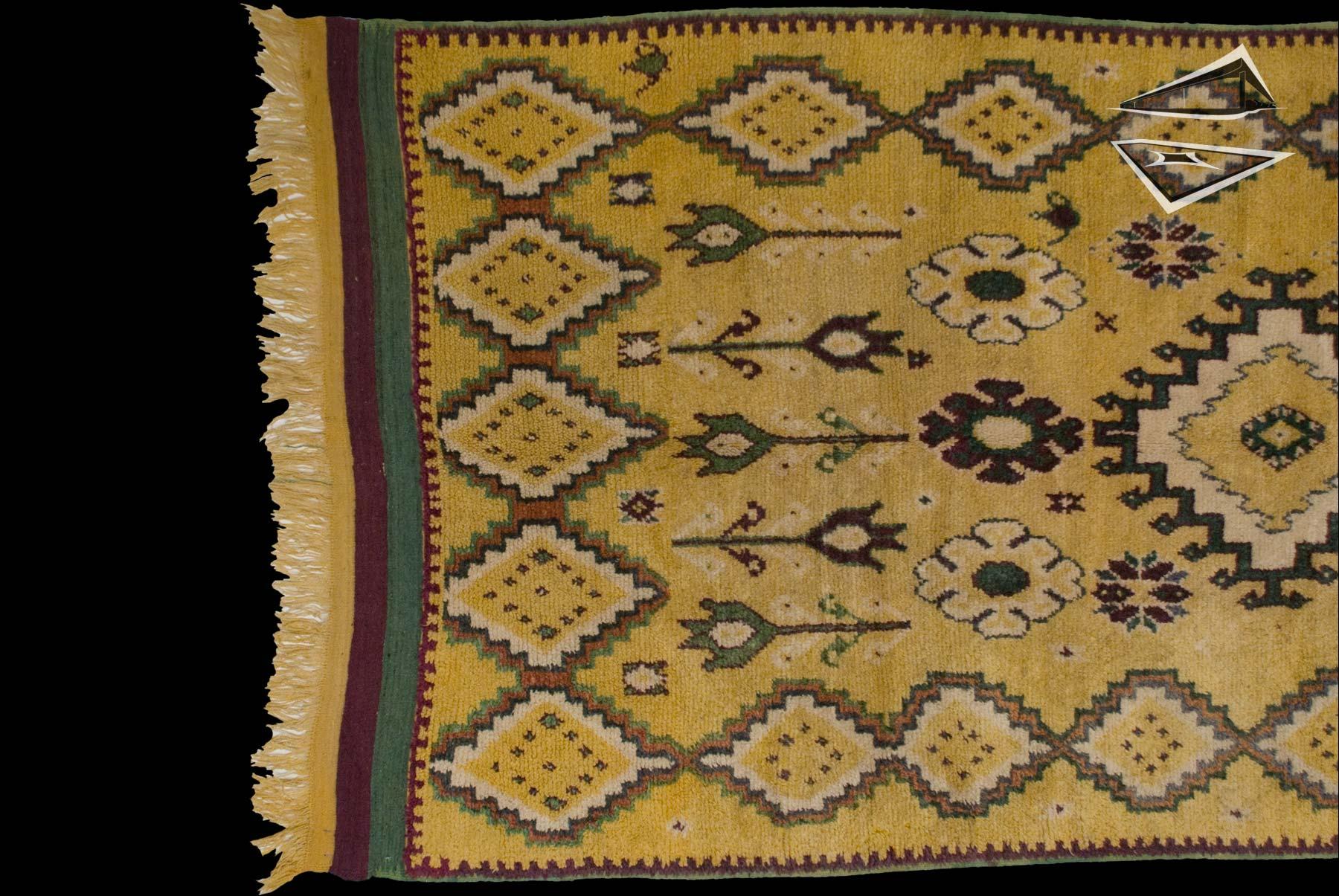 Tribal Moroccan Rug Runner 5 x 10