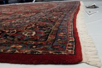 Square Persian Kazvin Square Rug 12' x 13'