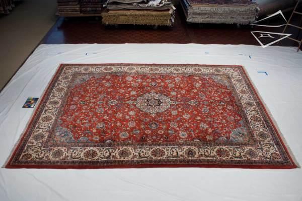 Persian Sarouk Rug 9' X 13'