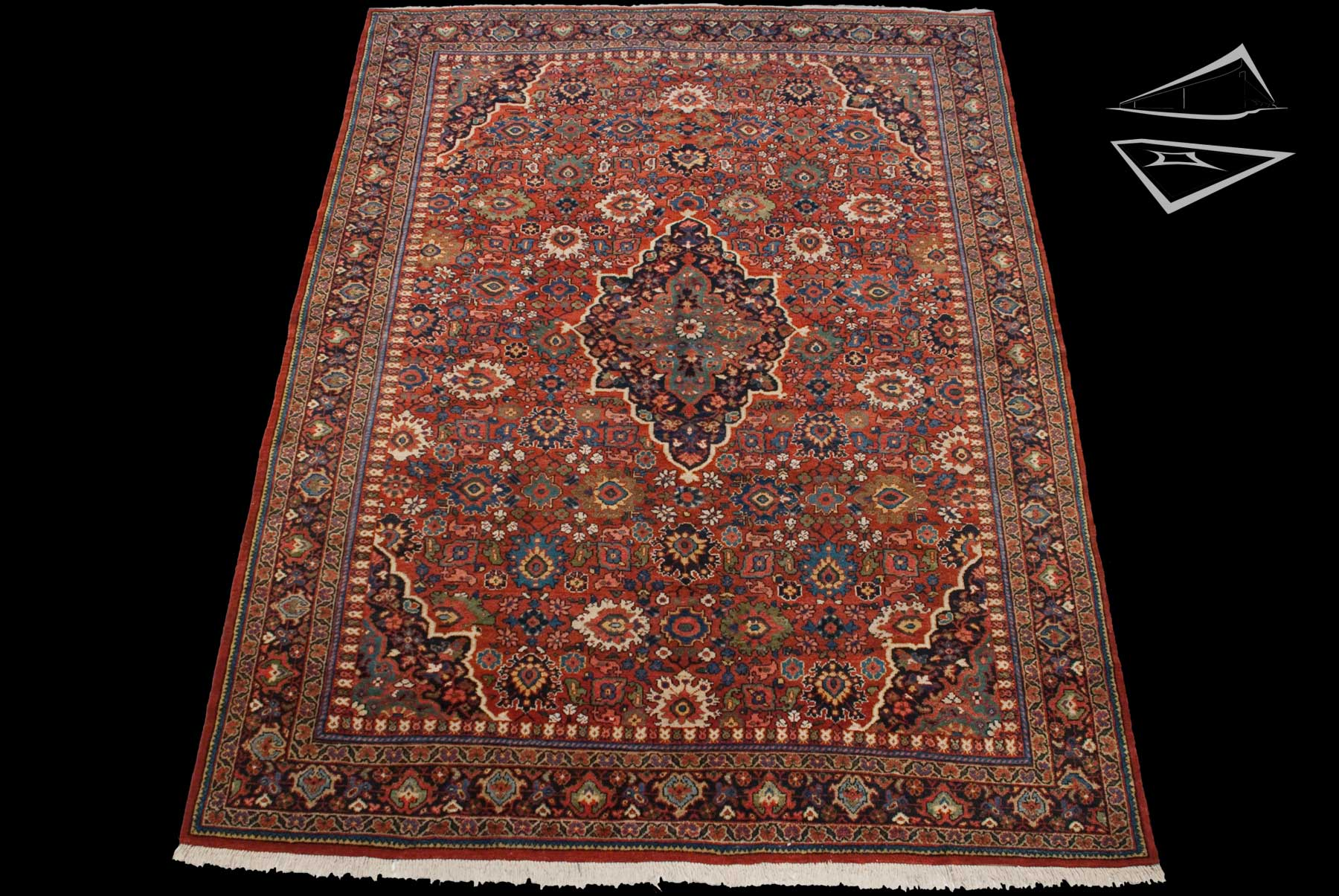 Persian Mahal Rug 8' x 12'