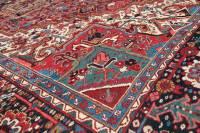 Red Persian Heriz Rug 11' x 14'