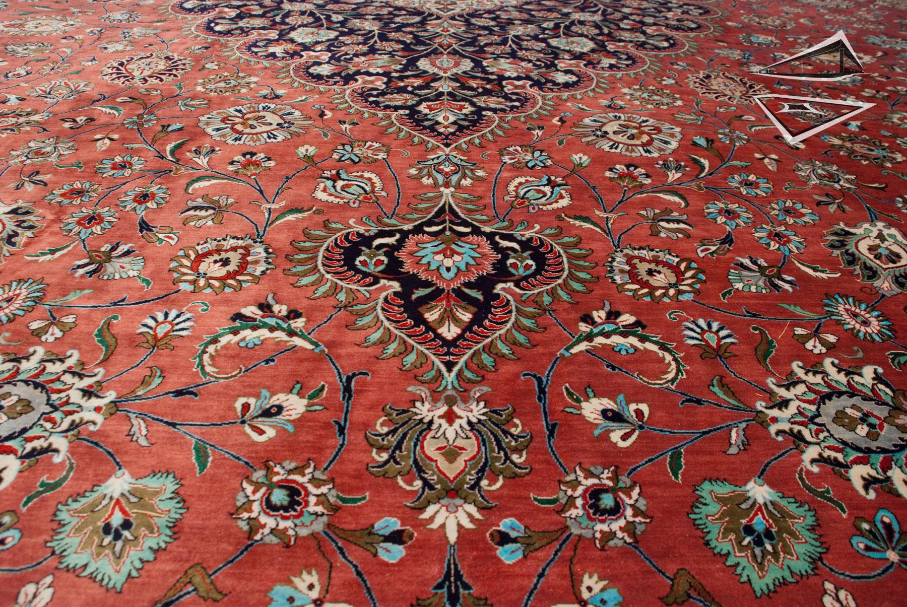 Persian Silk Qum Rug 13' x 20'