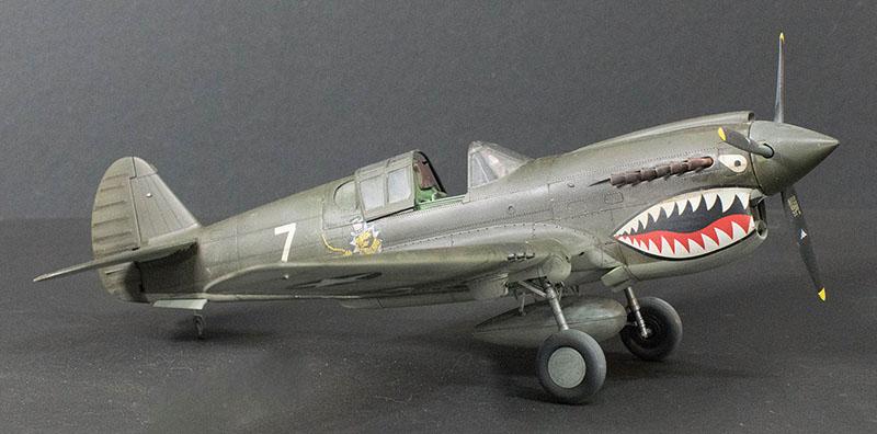 Hasegawa 1 32 P 40e Warhawk Large Scale Planes