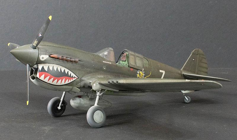 Hasegawa 132 P40E Warhawk  Large Scale Planes