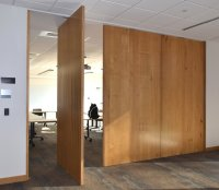 Wooden Room Dividers | Large Sliding Doors