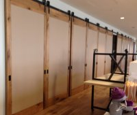 Modern Room Dividers | Large Sliding Doors