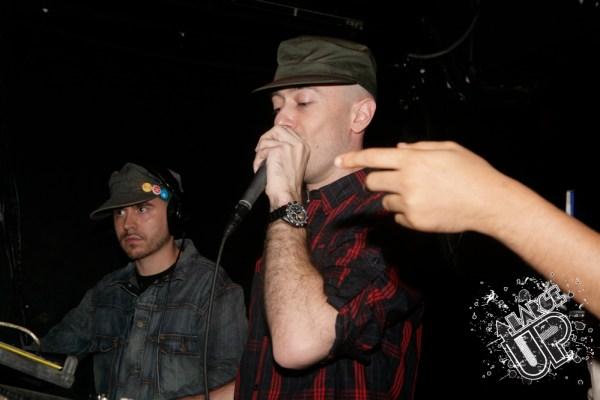 L-R: Federation's Kenny Meez & Max Glazer holdin' it down