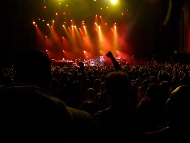 Phish live in concert