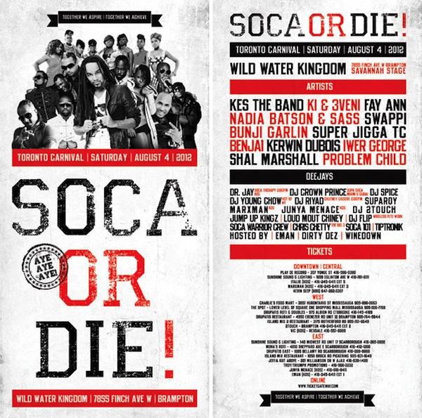 soca-or-die!