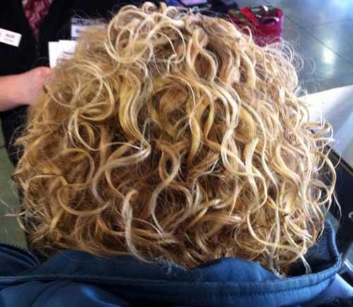 34 Nuevas Permanentes Rizadas Para El Cabello Largo Peinados
