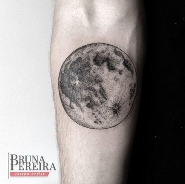 Más De 30 Ejemplos De Increíbles Y Significativos Tatuajes Lunares